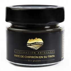 Chipiron in its ink pate